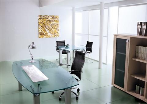 Arredo ufficio sedute scrivania barletta cerignola molfetta andria - Scrivania ufficio vetro ...